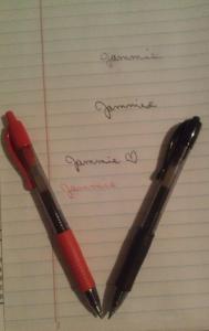 G2 gel pens from Pilot