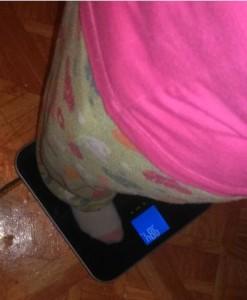 eatsmart getfit bathroom scale