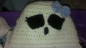 crochet monster high hat
