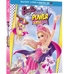 BARBIE IN PRINCESS POWER BLU-RAY COMBO PACK & DVD Giveaway (5 Winners)